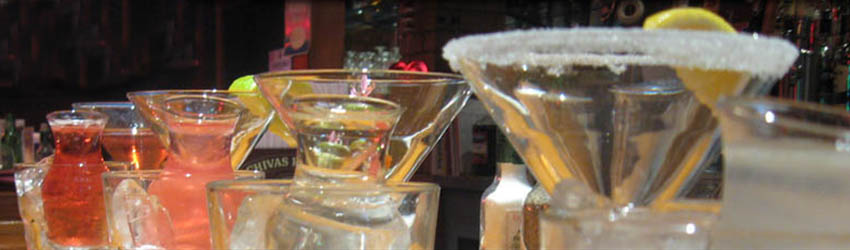 Happy Hour 3-6pm, $3 off all appetizers! Beer Wine Martini Specials.